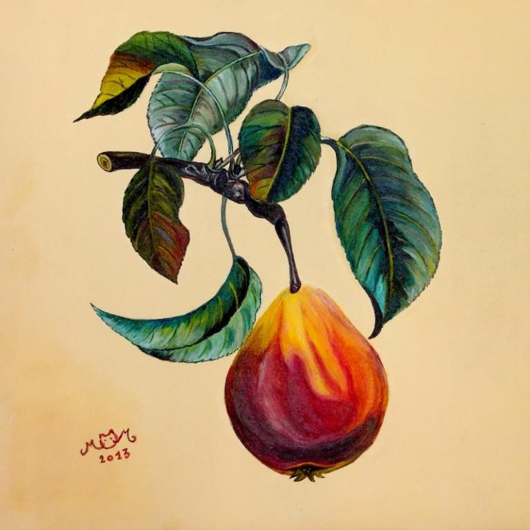 martinemoniemounie_peinture acrylique 19_fruits_2013