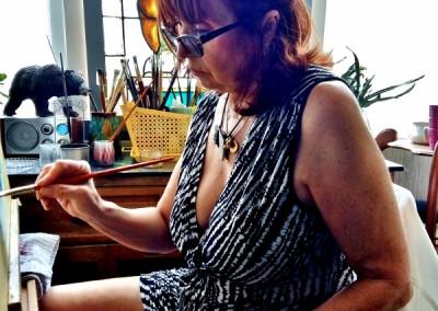 Martine peignant 2018