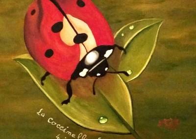 martinemoniemounie_peinture acrylique 41_La coccinelle Louisa_2018_blog