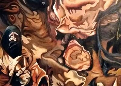 martinemoniemounie_peinture acrylique_F20_Le Logui_Les grandes marées 3_2018