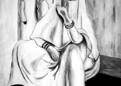 13_martinemoniemounie_peinture acrylique_F10_Marocaine des années 30_2019_blog