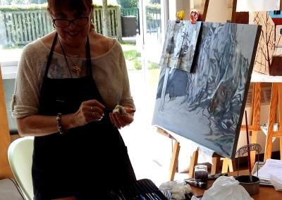 19_Martine monie Mounie peinture en cours