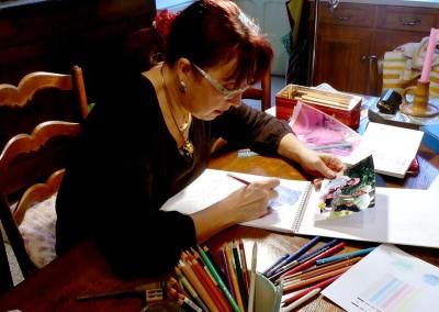 21_Martine monie Mounie peinture en cours