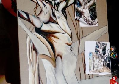 22A_Martine monie Mounie peinture en cours