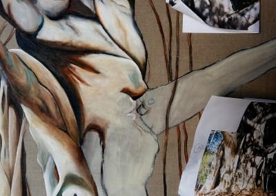 22B_Martine monie Mounie peinture en cours