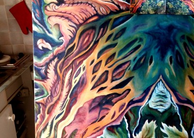 30C_Martine monie Mounie peinture en cours