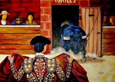 31_MartineMonieMounie_La corrida_acrylique sur toile de lin_P25_80x60_blog_2021_
